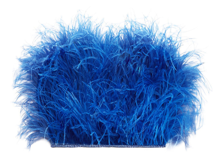 Ostrich Feather Trimmings (Sold By Meter) - Ostrich Africa