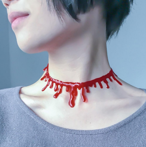 Horror Blood Choker
