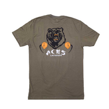 Load image into Gallery viewer, EMIT REMMUS ACES T-SHIRT (MILITARY GREEN)