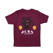 Load image into Gallery viewer, EMIT REMMUS ACES T-SHIRT (BURGUNDY)