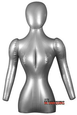 Female Inflatable Torso with Arms/Head - Las Vegas Mannequins