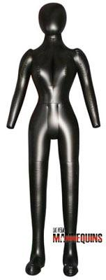 Female Inflatable Full Size Mannequin - Las Vegas Mannequins