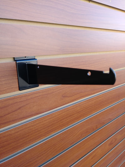 "8"" Knife Shelf Bracket - Slat Wall - Las Vegas Mannequins"