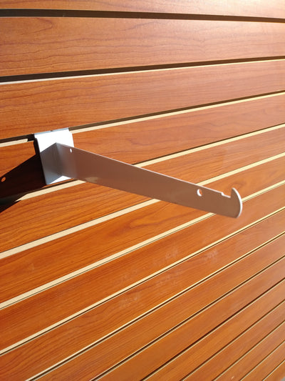 "10"" Knife Shelf Bracket - Slat Wall - Las Vegas Mannequins"