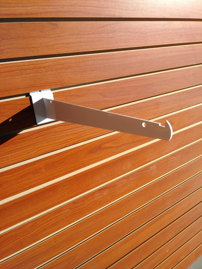 "12"" Knife Shelf Bracket - Slat Wall - Las Vegas Mannequins"
