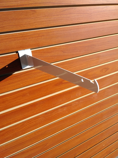 "14"" Knife Shelf Bracket - Slat Wall - Las Vegas Mannequins"