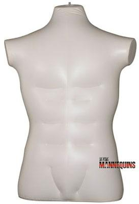 Male Inflatable Large Torso - Las Vegas Mannequins