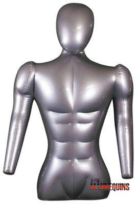 Male Inflatable Torso with Arms/Head - Las Vegas Mannequins