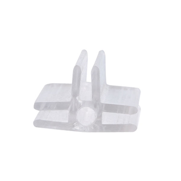 3 - Way Glass Shelf Connector Lexan - Las Vegas Mannequins