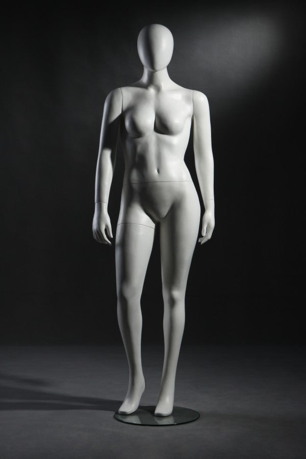 Female Plus Size Faceless Mannequin