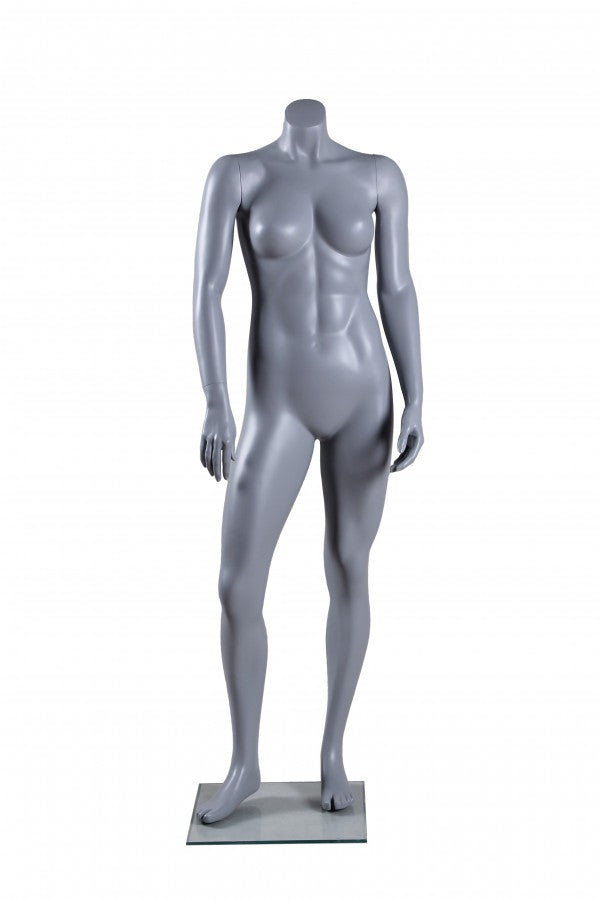 Rental Female Athletic Headless Mannequin - Las Vegas Mannequins