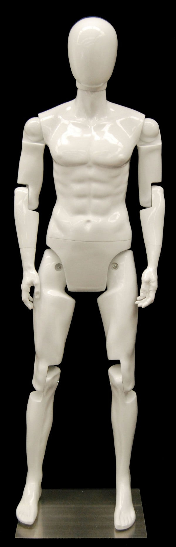 Rental Male Fully Posable Mannequin - Las Vegas Mannequins