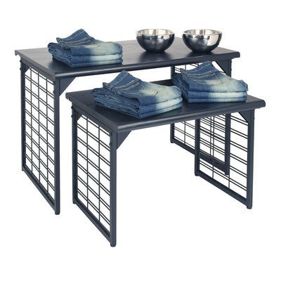 Set of Two Nesting Tables - Las Vegas Mannequins