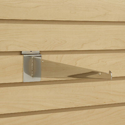 "6"" Knife Shelf Bracket - Slat Wall - Las Vegas Mannequins"