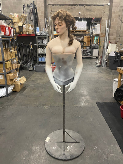 Female Bust with Stand - Las Vegas Mannequins