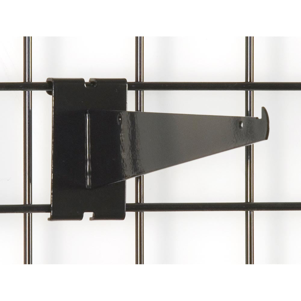 "8"" Knife Shelf Bracket - Grid Wall - Las Vegas Mannequins"