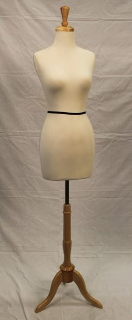 Female Dress Form, creme - Las Vegas Mannequins