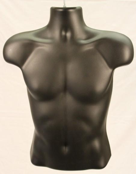 Male Injection Mold Half Torso - Las Vegas Mannequins