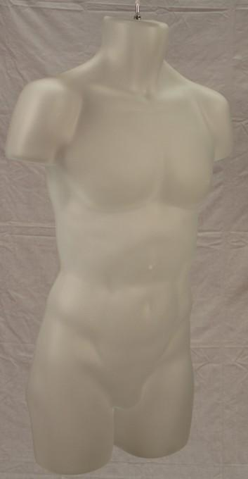 Male Injection Mold Torso - Las Vegas Mannequins