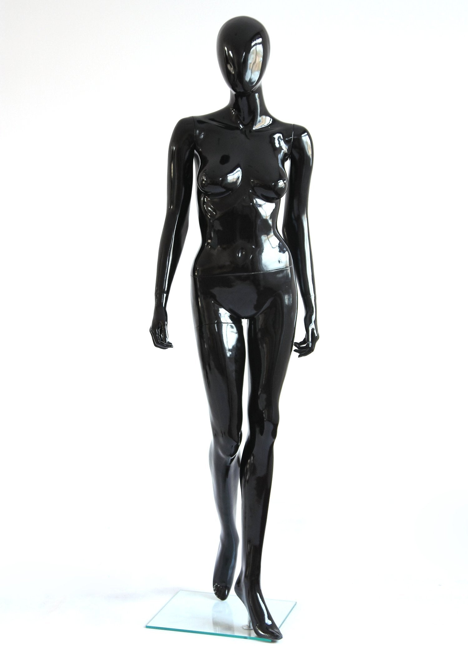 Rental Female Black Glossy Mannequin