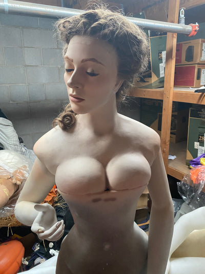 Victorian Female Bust with Stand - Las Vegas Mannequins