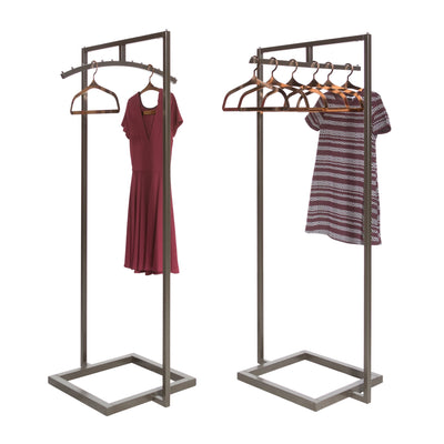Linea Extended 2-Way Rack with Straight Bar - Las Vegas Mannequins