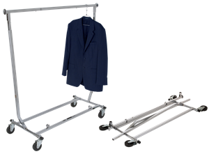 Rental Collapsible Garment Rack - Las Vegas Mannequins