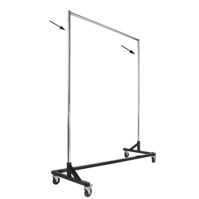 "12"" Height Extension for RZK/7 and RZK/8 Rolling Racks - Las Vegas Mannequins"