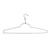 "19"" Steel Blouse and Dress Hanger w/ Loop Hook - Las Vegas Mannequins"