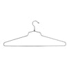 "19"" Steel Blouse and Dress Hanger w/ Regular Hook - Las Vegas Mannequins"
