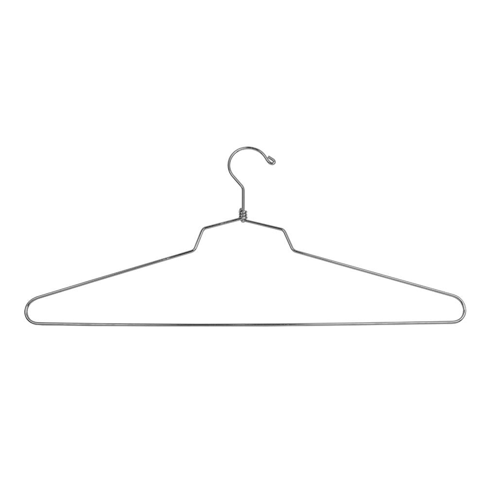 "18"" Steel Blouse and Dress Hanger w/ Regular Hook - Las Vegas Mannequins"