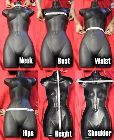 Female Injection Mold - Las Vegas Mannequins