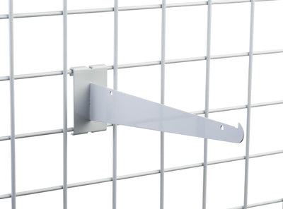 "10"" Knife Shelf Bracket - Grid Wall - Las Vegas Mannequins"