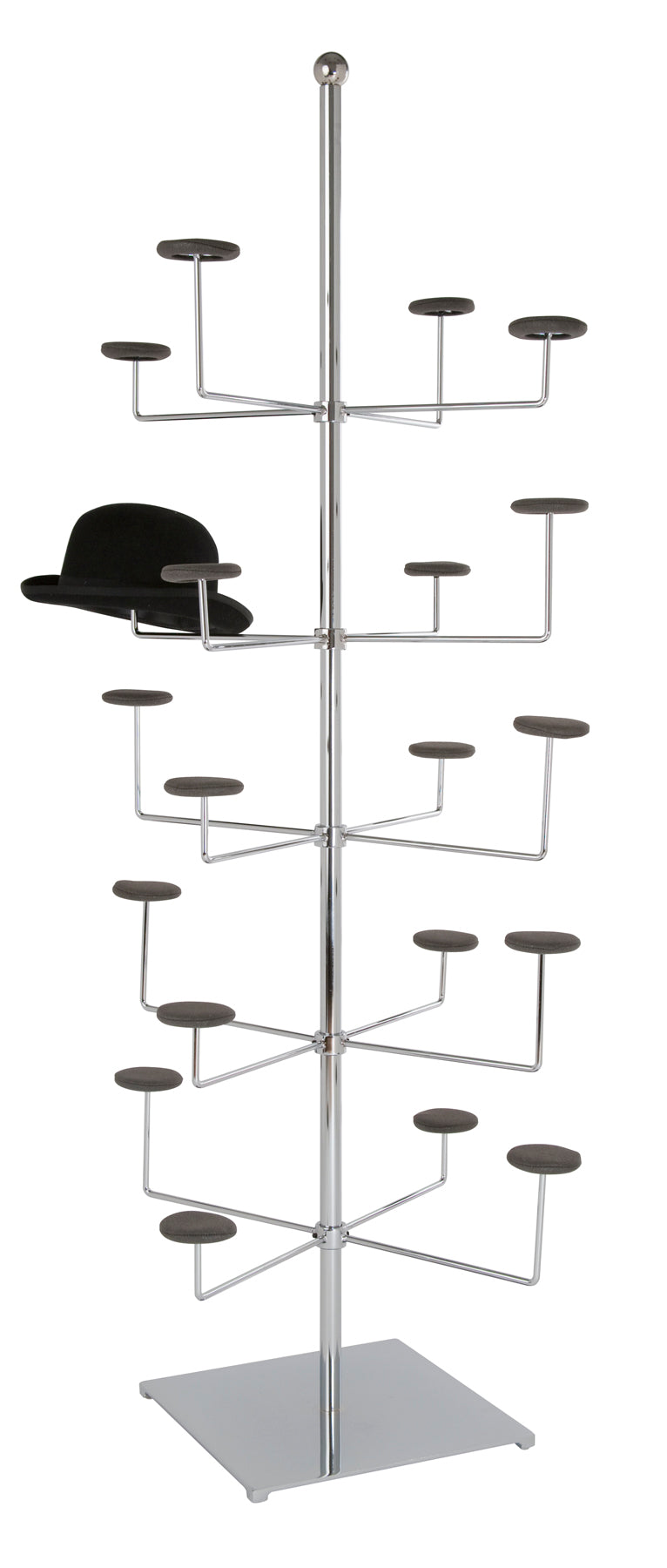 Stationary Hat/ Cap Rack - Las Vegas Mannequins
