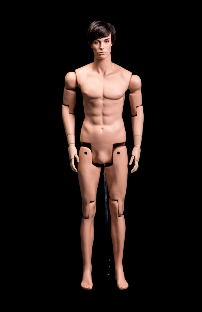 Posable Male Flesh Mannequin