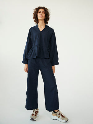 Ester Navy Blouse