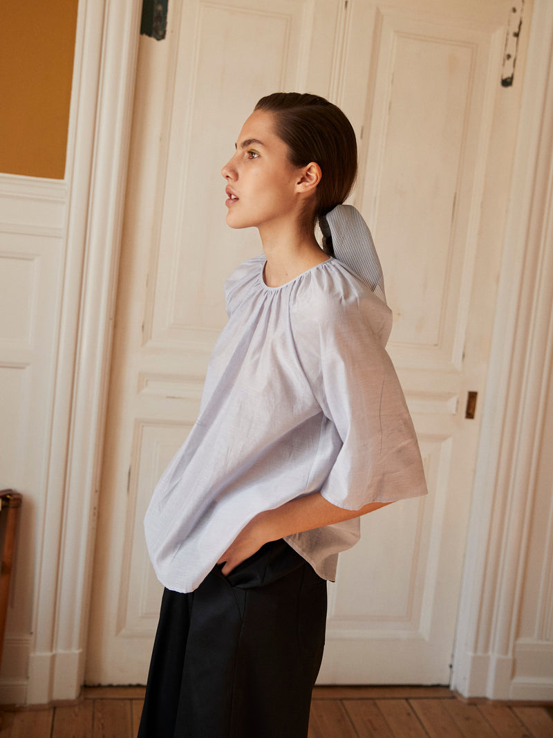 Yvon Silk Cotton Top