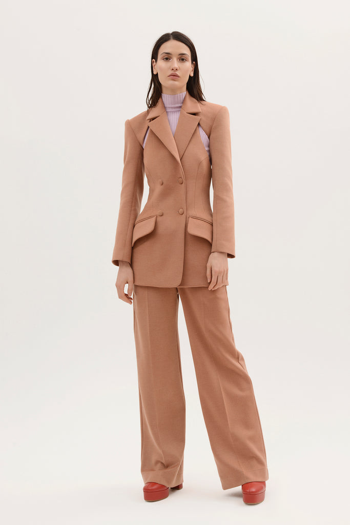 Two piece fitted blazer - Materiel