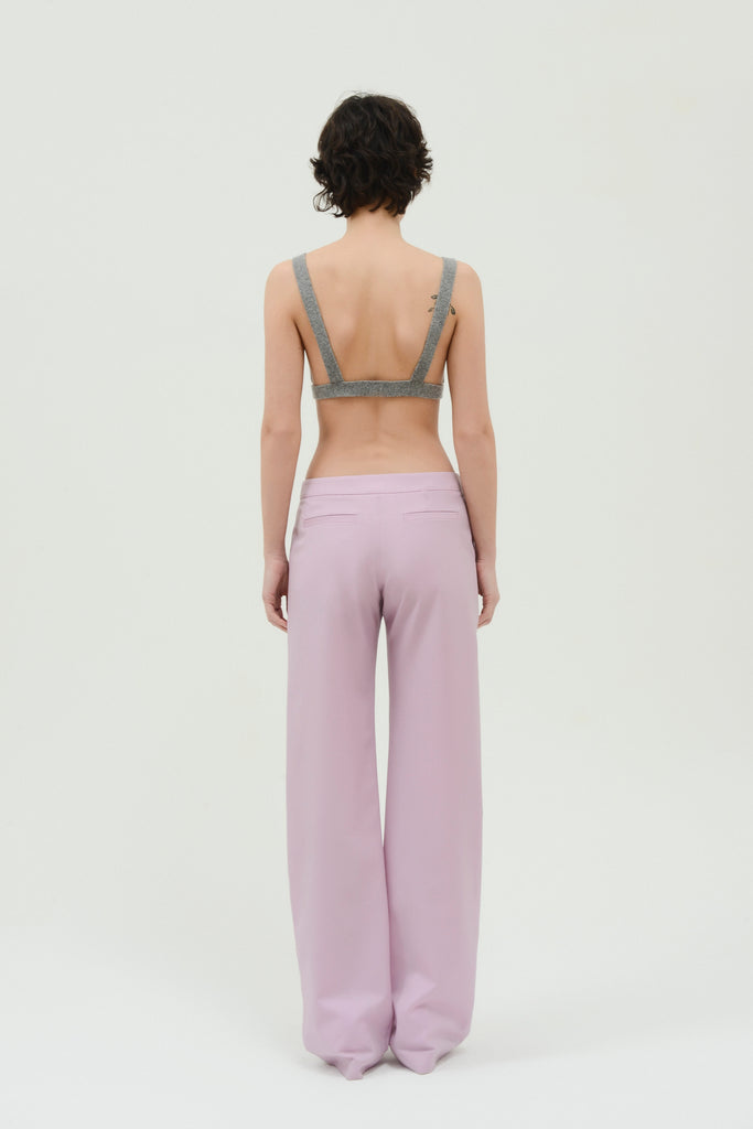 Low waist straight pants - Materiel