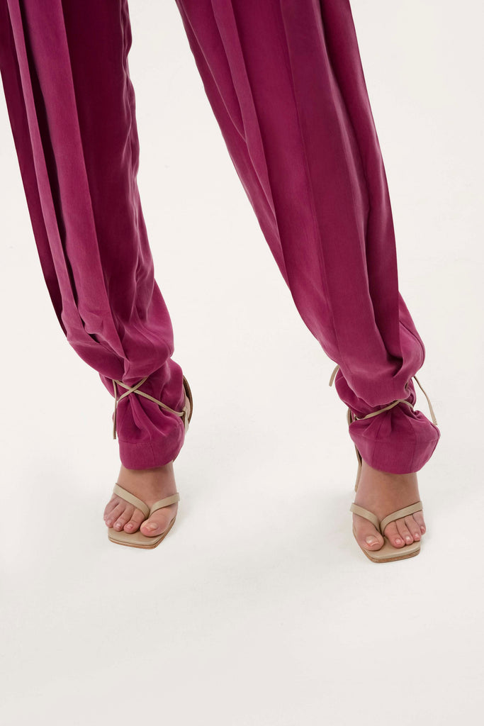 PLEATED CARGO PANT - Materiel