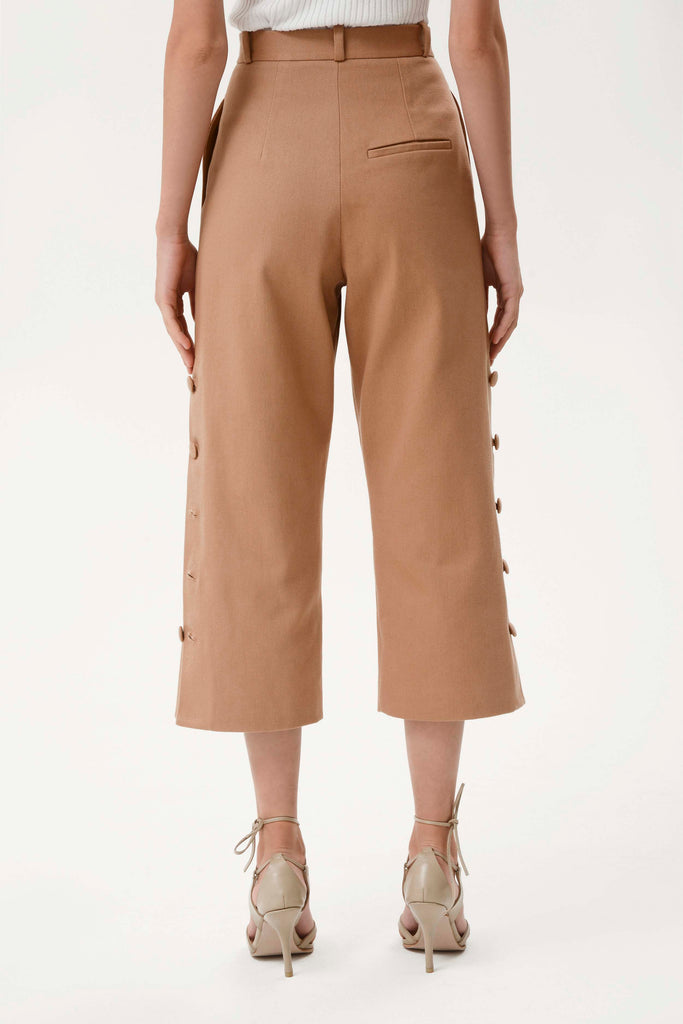 CROPPED PANTS - Materiel