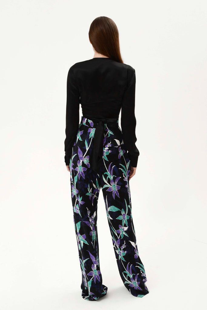 LILY FOLDED PANTS - Materiel