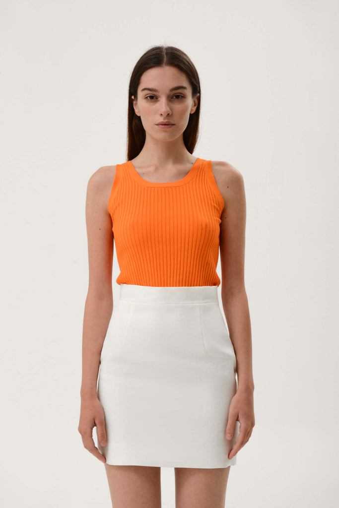 ROUND NECK KNITTED TOP - Materiel