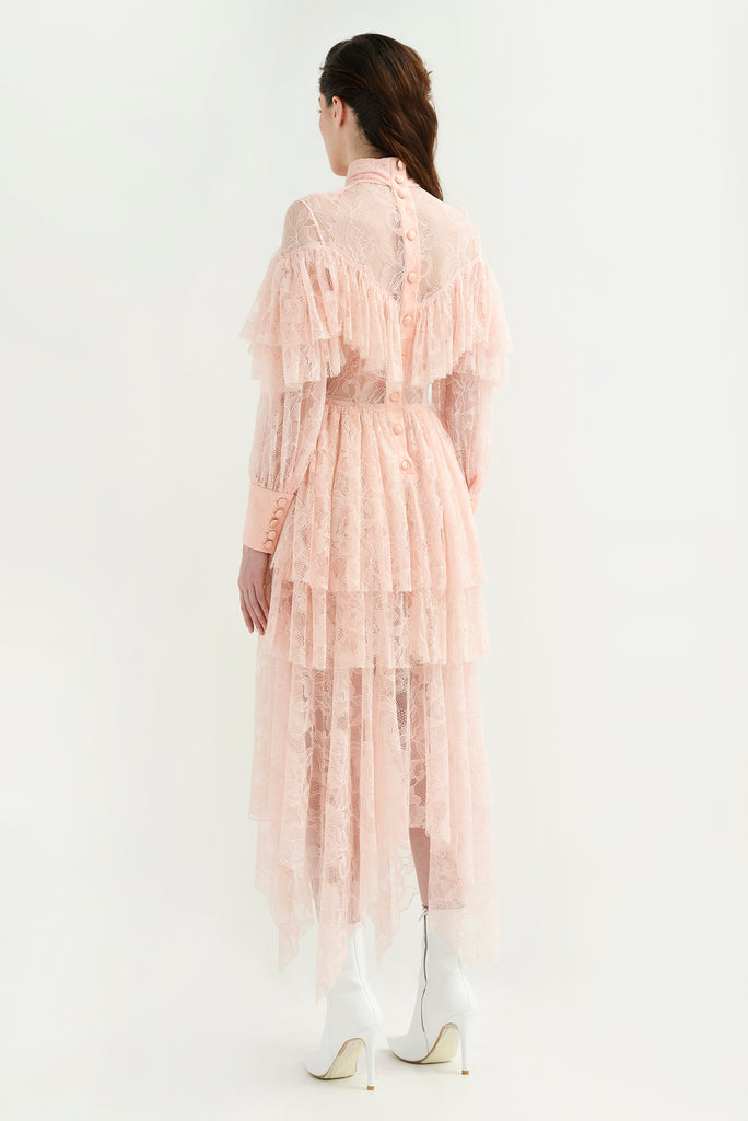 All over lace dress - Materiel