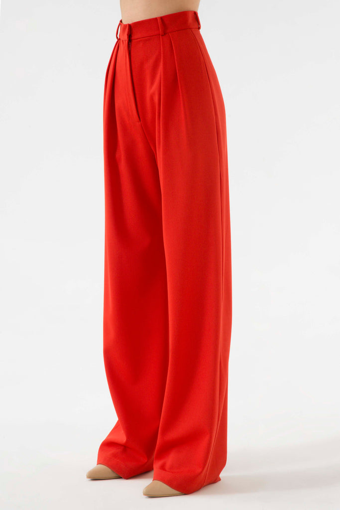Wide leg pants - Materiel