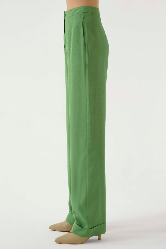 Lightweight straight pants - Materiel