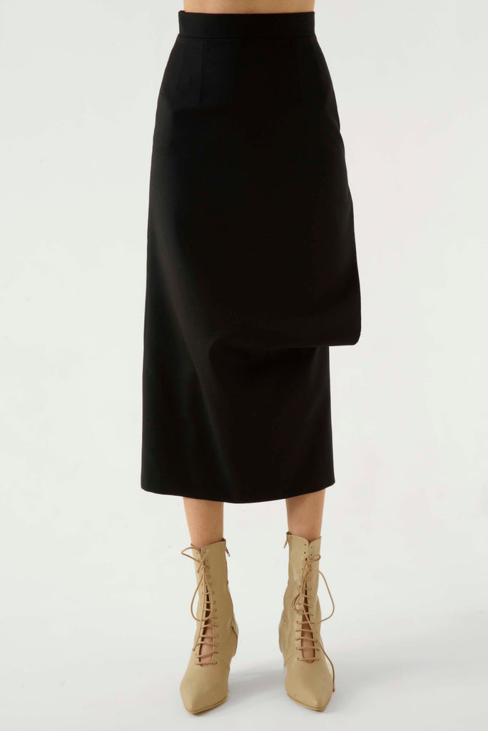 SIDE SPLASH PENCILS SKIRT - Materiel