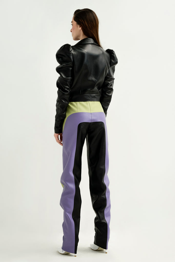 Jacket w/ puff sleeves - Materiel