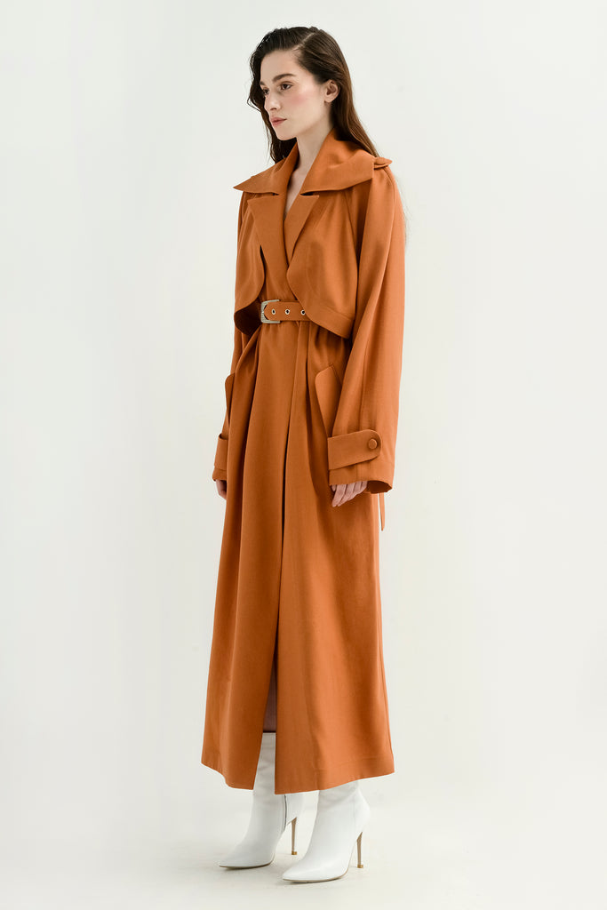 Lightweight trench coat - Materiel