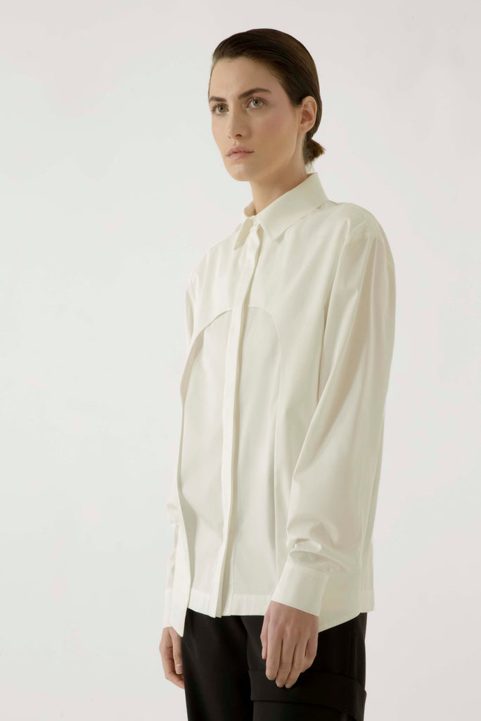 Double layer button down shirt - Materiel